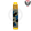 The Brass PRG-25 RDA looks even better above the cool Blue Camo shades of the Skull Camo Edition Mech MOD.