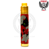 The Brass PRG-25 RDA highlights the fiery tones of the Red Camo Skull Mech MOD.