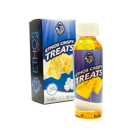 Ethos Vapors E-Liquid - Crispy Treats