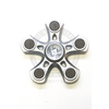 The high-rating R188 bearing in each spinner endows this piece of hardware with long spin times.