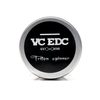 VC-EDC Mini Triton Fidget Spinner by Vaperz Cloud comes in a protective aluminum tin.