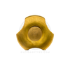 The VC-EDC Mini Triton Fidget Spinner by Vaperz Cloud in Brass