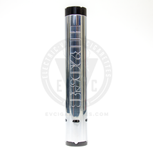 The VCMR 27mm HR2058 Mechanical MOD by Vaperz Cloud is a stacked mechanical mod, accepting two 18650 batteries for a doubled voltage output.