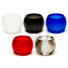 The Vaporesso NRG 8mL Expansion Tanks by Czar American Made in Black, Black & White, Blue, Red, and Clear (Frosted).