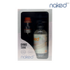 The Naked 100 E-Liquid & Ohmie Sub-Ohm Tank Atomizer Bundle with Amazing Mango and orange tank accents.