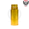 The Jury Stackable 26650 Extension in 464 Naval Brass