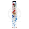 The Tugboat v3 Mech MOD and Flawless AF RDA in White with Blue & Red Splatter