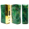 """The stabilized wood features a body design as unique as the vaper who buys it and a skillfully executed """"TugLyfe"""" engraving."""