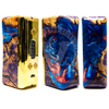 The hybrid stabilized wood body features acrylic resin injected into every orifice of the 100% natural wood body gives the organic material the incredible strength,  stability, and longevity of highly durable inorganics.