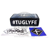 The TugLyfe DNA 250's packaging includes the warranty card and user manual.