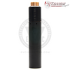 The Roundhouse 2 Mech MOD by Purge Mods & the Trickster RDA by Kennedy Vapor in Black