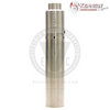 The Roundhouse 2 Mech MOD by Purge Mods & the Trickster RDA by Kennedy Vapor in Stainless Steel