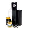The SiFi Mech MOD includes a delrin 18650 battery sleeve for the penultimate in convenience and safety.