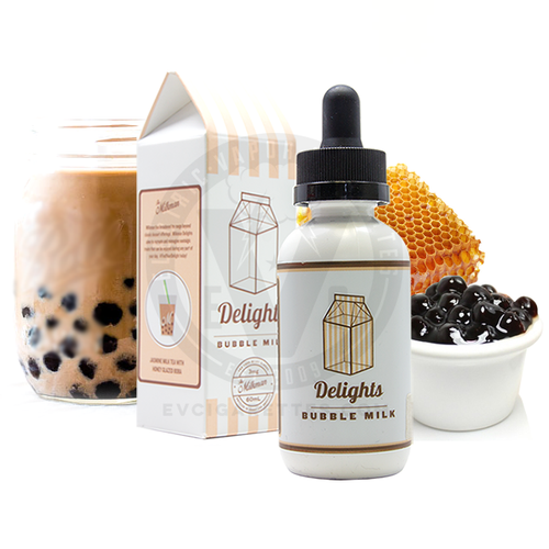Bubble Milk | The Milkman Delights E-Liquid