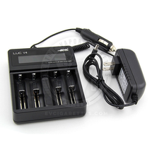 Efest LUC V4 Smart LCD Battery Charger w/ Car Adapter