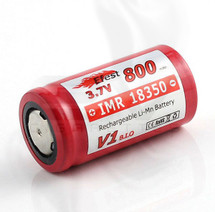 Efest 18350 IMR (LiMn) 800 mAh 3.7v Li-Ion Battery | Flat Top