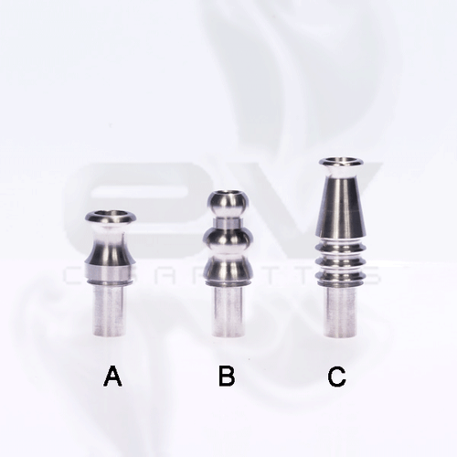 Stainless Steel CE4 | CE6 | Vision Stardust Clearomizer Drip Tips