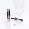 Stainless Steel CE4 | CE6 | Vision Stardust Clearomizer Drip Tips | Type C