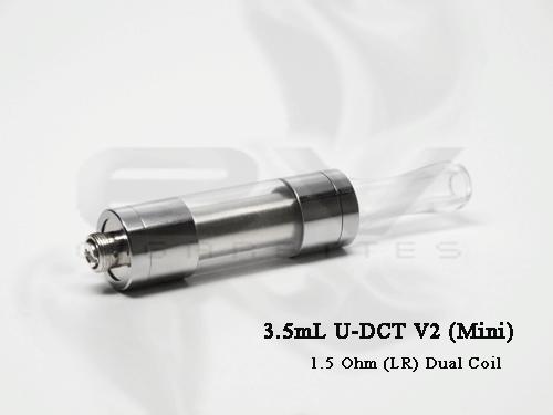 SmokTech Mega XL 1.5 ohm dual coil cartomizer 5 Pack
