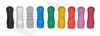 Soft Rubber (Silicone) Drip Tips for 510   808   901 - Round Tip