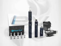 Kanger eVod Changeable Head Bottom Coil Clearomizer Starter Kit - Blue