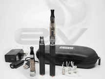 eGo Twist 650mAh CE6 Clearomizer Starter Kit - Black
