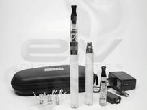eGo Twist 1100mAh CE6 Clearomizer Starter Kit - White