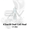 Innokin iClear 30 Dual Coil Replacement Head | 1.5 ohm