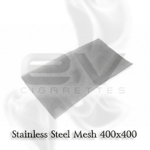 Stainless Steel Mesh 400 | 45mm x 45mm Price includes one (1) 45mm x 45mm size sheet (measurement may not be approximate)