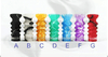Versicolor Wave Drip Tip for 510 | 808D-1 | 901