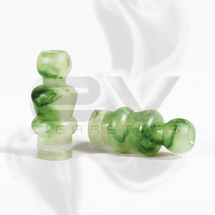Jade Yeti Round Drip Tip for 510 | 808D-1 | 901 *Price includes one (1) drip tip