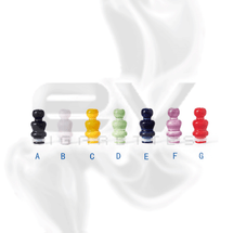 Ceramic Yeti Drip Tip for 510 | 808D-1 | 901
