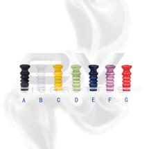 Ceramic Wave Drip Tip for 510 | 808D-1 | 901