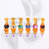 Versicolor Mixed Dual Yellow Drip Tip for 510 | 808D-1 | 901