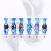 Versicolor Mixed Dual Blue Drip Tip for 510 | 808D-1 | 901