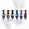 Versicolor Mixed Dual Black Drip Tip for 510 | 808D-1 | 901