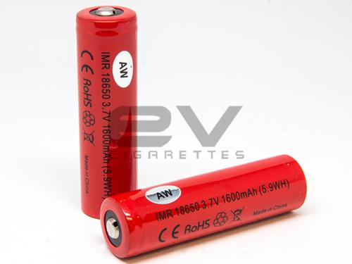 AW 18650 IMR 1600mAh High Drain Battery