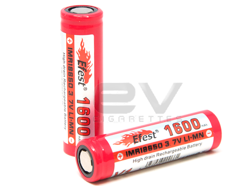 Efest 18650 IMR 1600mAh 30A Battery