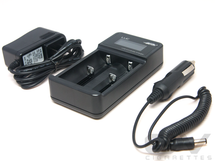 Efest LUC Smart LCD Battery Charger w/Car Adapter
