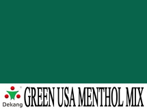 Dekang Green USA Menthol Mix Tobacco E-Liquid | 10mL