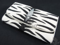 Genuine Stingray Skin Clutch Wallet Tiger Design [SRL001WTG01]