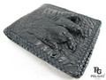 Genuine Crocodile Foot Claw Skin Handmade Wallet Black [CRUS0001-006FF1BBK01M-NCWBL1]