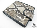 Genuine Python Skin Women's Wallet Natural [PYRUS003NT01G]