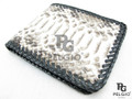 Genuine Python Belly Skin Handmade Men's Wallet Natural [PYRUS010NT01G]