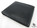 Genuine Seasnake Skin Men's Wallet Black [SEUS0001-001A1HBK01GN-NCWL1]