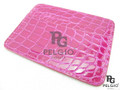 Genuine Crocodile Skin Card Holder Pink [CRCH005PK02S]