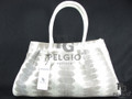 Genuine Natural Sea Snake Skin Handbag Purse [SEH001NT01G]