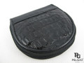 Genuine Caiman Skin Coin Purse Black [CMCP002ABK01]