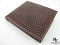 Genuine Seasnake Skin Men's Wallet Brown [SEUS001BR01GN]