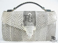 Genuine Cobra Skin Handbag Purse [CBH003NT01G]